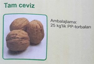 walnuts in shells turkish